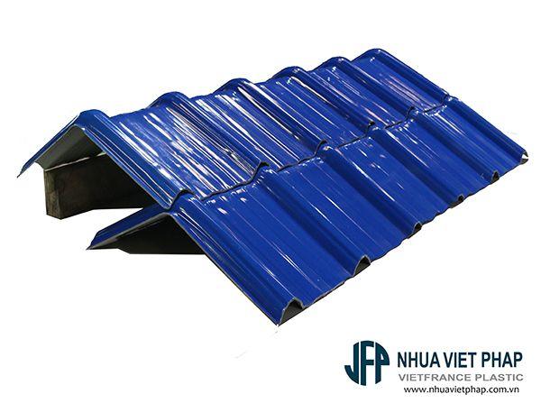 Tôn nhựa 4 lớp ASA/PVC Việt Pháp