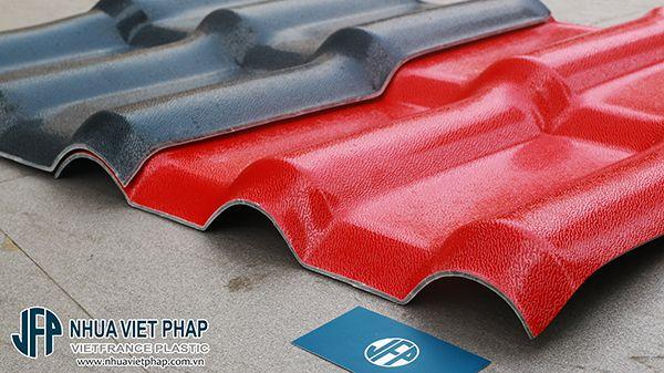 Ngói nhựa ASA/PVC Việt Pháp