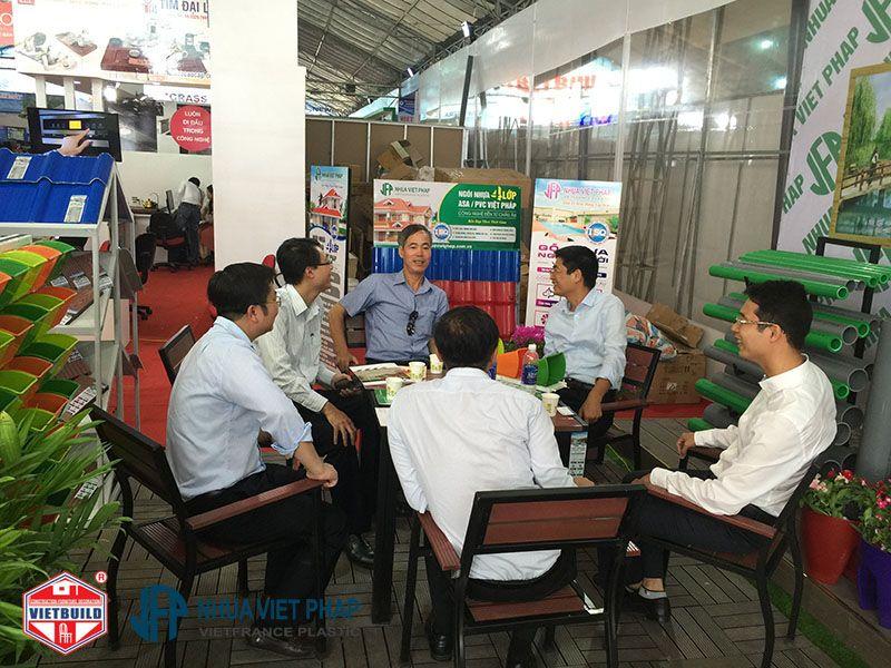 vietbuild 2016 gian hang nhua viet phap 3