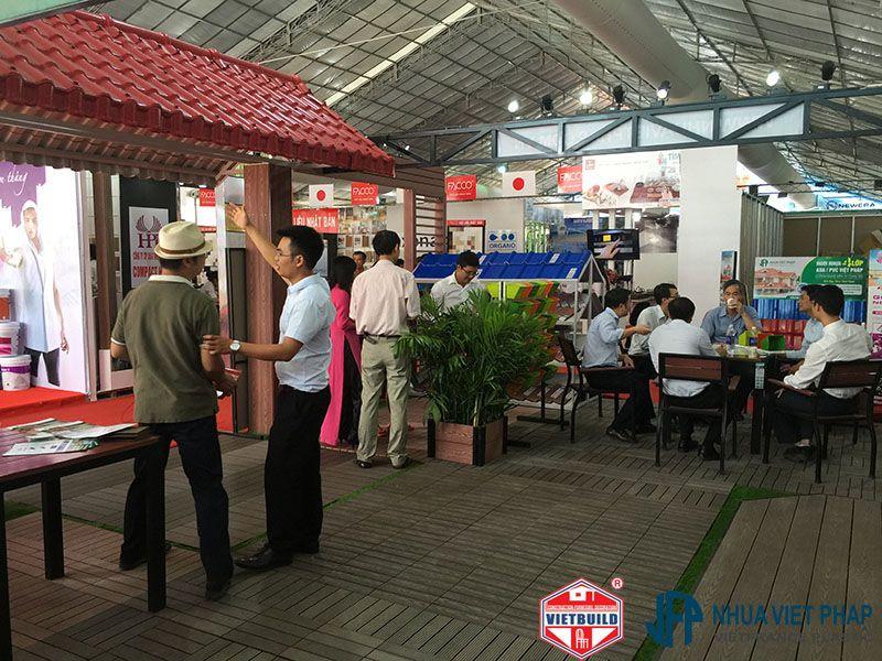 vietbuild 2016 gian hang nhua viet phap  4