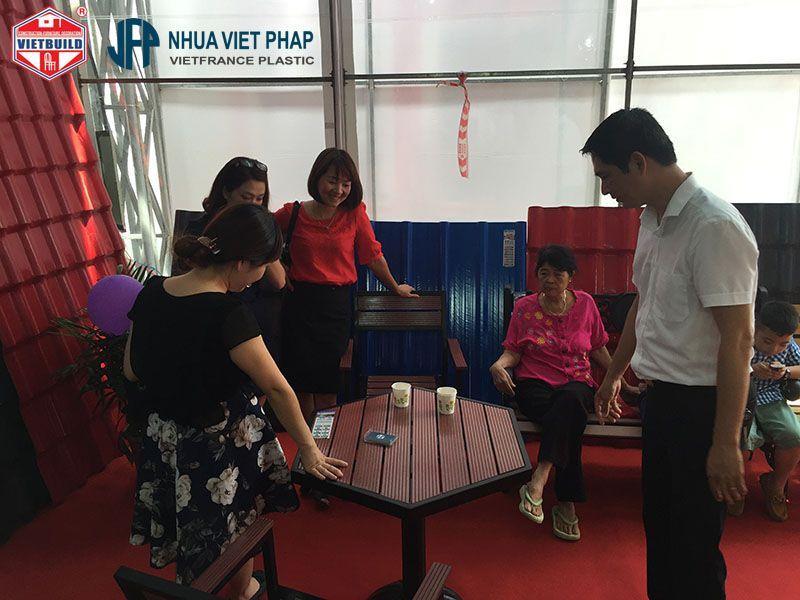 vietbuild 2016 gian hang nhua viet phap 6