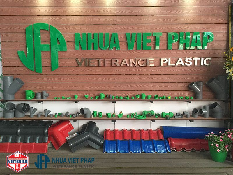 vietbuild 2016 gian hang nhua viet phap 7