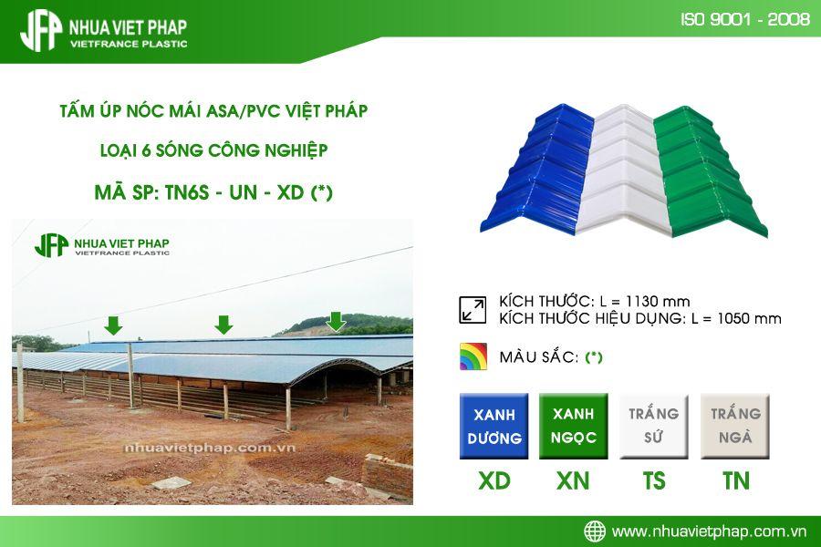 Mái lợp nhựa ,Tôn nhựa , Ngói nhựa Việt Pháp
