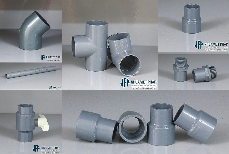 Ống nhựa PVC và phụ kiện chịu lực PVC Việt Pháp