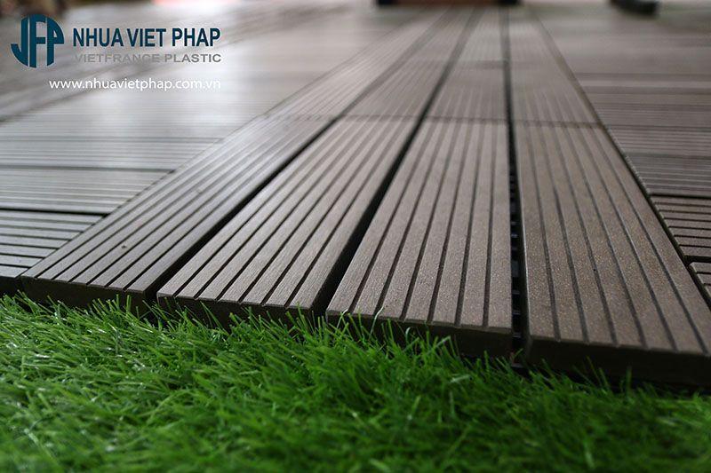 Vỉ gỗ nhựa ngoài trời Việt Pháp VG300 - tiện lợi, tiết kiệm và dễ dàng lắp đặt