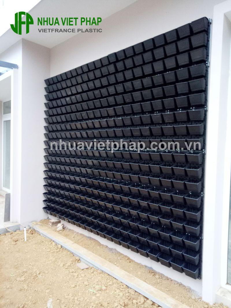 Bộ chậu tường đứng kích thước 54.5 15.5mm