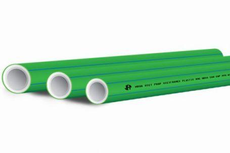 Ống nhựa chịu nhiệt PPR Nhựa Việt Pháp – PN10 (Vạch chỉ màu xanh dùng dẫn nước lạnh)