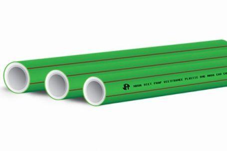 Ống nhựa chịu nhiệt PPR Việt Pháp PN20 (Vạch chỉ màu đỏ dùng dẫn nước nóng và nước lạnh)