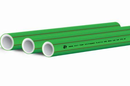 Ống nhựa chịu nhiệt PPR Nhựa Việt Pháp PN16 (Vạch chỉ màu đỏ dùng dẫn nước nóng và nước lạnh)