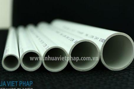 Ống luồn dây điện cứng chống cháy Nhựa Việt Pháp