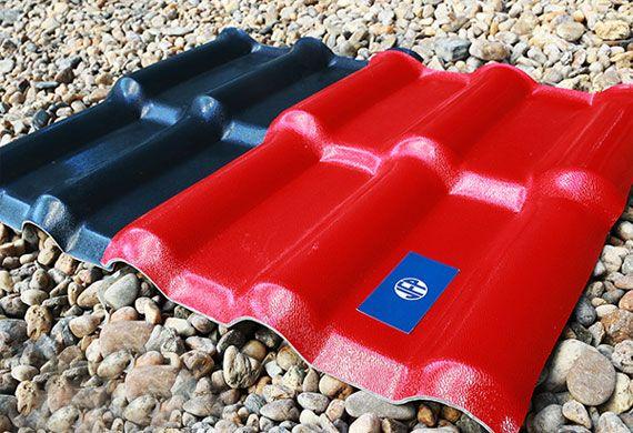 Tôn ngói nhựa 4 lớp ASA/PVC Việt Pháp