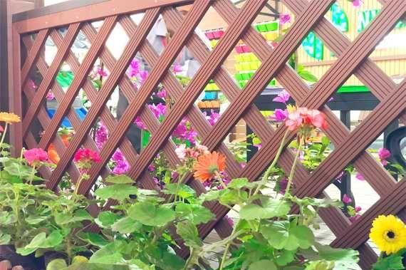 Hàng rào lan can gỗ nhựa – Nhựa Việt Pháp