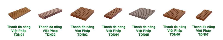 Thi công hàng rào, lan can bằng gỗ nhựa Việt Pháp