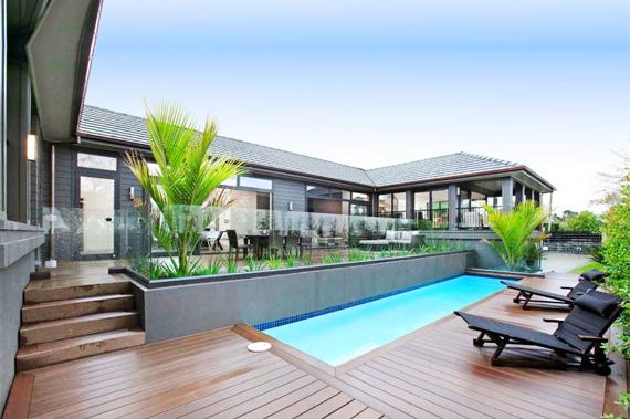Sàn gỗ hồ bơi, sàn gỗ bể cá – Nhựa Việt Pháp