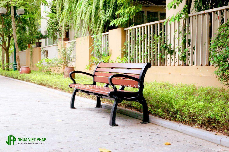 Tổng hợp các mẫu ghế băng ngoài trời – Nhựa Việt Pháp