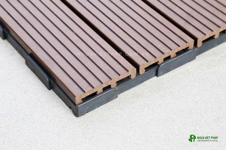 Làm mới không gian ngoài trời với vỉ gỗ tiêu chuẩn xuất khẩu Nhật Bản, Hàn Quốc VG300-JK