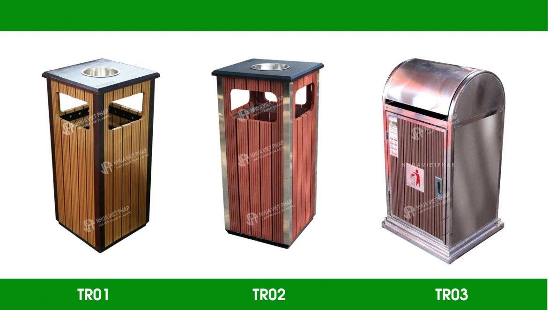 Thùng rác công viên có những loại nào ?