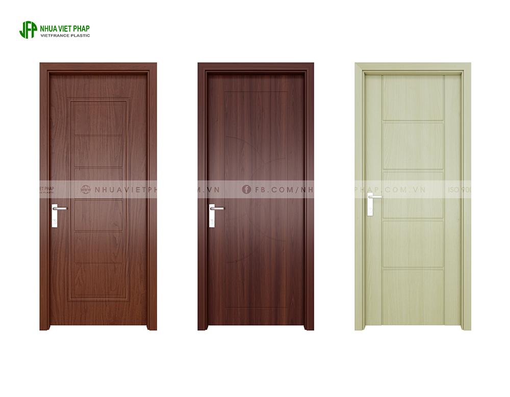 Cửa gỗ nhựa Ecoplast Door – Nhựa Việt Pháp
